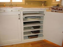 kitchen storage ideas add additional shelves in lower cabinets to