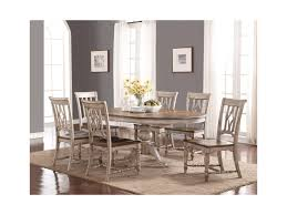 dining room sets cleveland ohio flexsteel wynwood collection plymouth pedestal dining table with