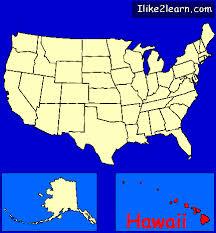 map united states including hawaii hawaii gif
