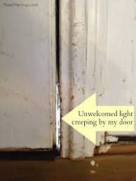 Exterior Door Insulation by How To Winterize Your Front Door Meet Penny