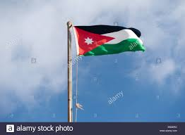 Flag Jordan Jordan Flag Stock Photo Royalty Free Image 57244416 Alamy