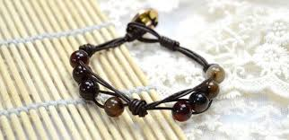 make leather woven bracelet images 3 steps on making leather cord friendship bracelet for men with jpg