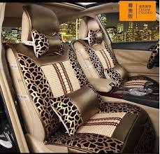 recouvrement siege auto acheter l imprimé de léopard de léopard quatre couvertures de