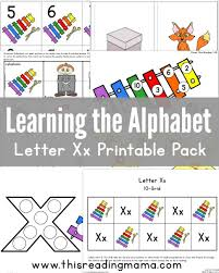 printable alphabet grid learning the alphabet letter x printable pack this reading mama