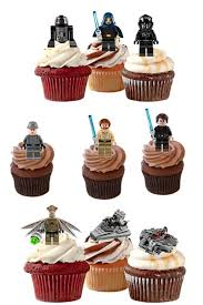 wars edible image wars edible stand up wafer paper cupcake toppers