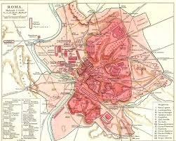 Map Of Metro In Rome by Historical Rome City Map 2 U2022 Mapsof Net