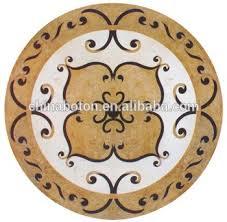 high end quality marble floor medallion mosaic floor tile marble