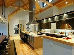 hotte de cuisine centrale 107 idées de îlot central de cuisine fonctionnel et convivial engine