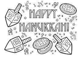 hanukkah coloring pages free 5343 celebrations coloring coloringace