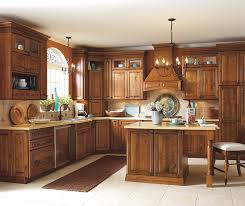 rustic wood kitchen cabinets rustic alder kitchen cabinets schrock cabinetry
