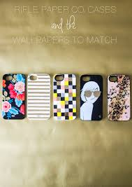 Rifle Paper Company Wallpaper Blossom Everyday Rifle Paper Co Iphone Cases And The Wallpapers