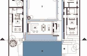 house plans with a pool captivating u shaped house plans with pool pictures best ideas