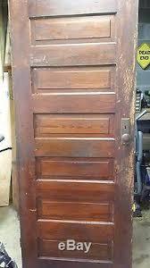 Pine 6 Panel Interior Doors Vintage 6 Panel Heart Pine Interior Wood Door 32 X 78