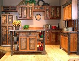 Rustic Hickory Kitchen Cabinets 20 Rustic Kitchen Cabinets Styles To Renovate Your Kitchen