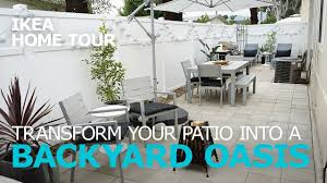 outdoor patio ideas ikea home tour episode 305 youtube