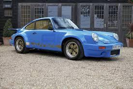 rare porsche 911 1974 porsche carrera 3 0 rs ex lord mexborough