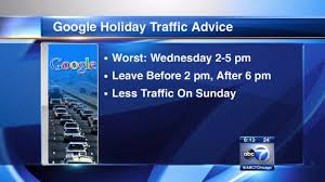 chicago thanksgiving traffic at its worst wednesday afternoon