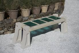 benches made by north american artists artful home