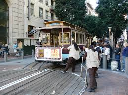 Cable Car Map San Francisco File San Francisco Market Street Cablecar Turntable Jpg