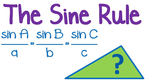 maths tutorial trigonometry law of sines sine rule youtube