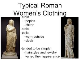 roman clothing and personal appearance ppt video online download