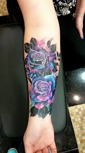 galactic rose forearm tattoo tattoos pinterest forearm
