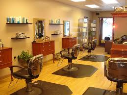 narrow room design for salon hair and beauty places homescorner com