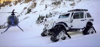 jeep arctic stormtrooper jk jeep with tracks is called