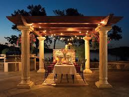 Outdoor Pergola Lights by 172 Best Outdoor Lighting Images On Pinterest Marriage Outdoor