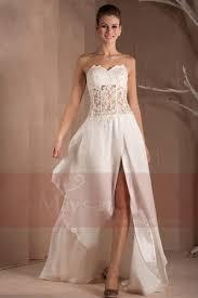 robe de mariã e bustier dentelle de mariage chic bustier transparent dentelle et mousseline