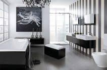bad weiss badezimmer schwarz weiß absicht auf plus bad design gispatcher