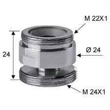 aerator kitchen faucet swivel metal adaptor for water kitchen faucet tap aerator 22mm to