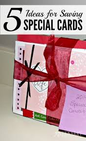 keeping special cards and notes 5 tips and ideas