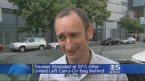 United Baggage Fees International United Airlines International Traveler Stranded In San Francisco