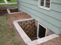egress window wells here home gallery stone wells exterior