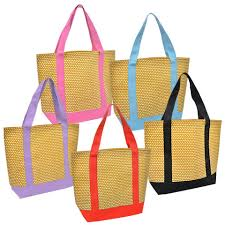 bulk large luau tote bags at dollartree