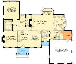 colonial floor plans colonial with open floor plam 32475wp architectural designs
