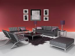 Red Bed Cushions Black Red And White Living Room Ideas Electric Fireplace Sectional
