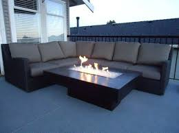 Firepit Patio Table by Patio Furniture With Propane Fire Pit Table Outdoor Dining Table