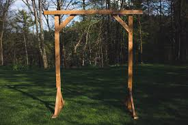 wedding arch plans free diy wood wedding arbor the sorry