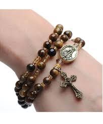 rosary bracelet eye rosary bracelet
