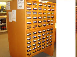 library card catalog cabinet roselawnlutheran