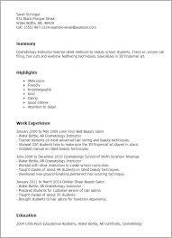 Sample Hair Stylist Resume Waitress Resume Skills Examples Free Server Resume Example Server