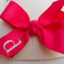 custom hair bows infant hair bows macie s custom bows