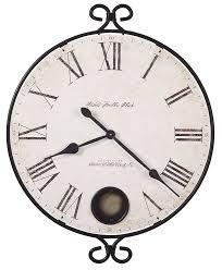 Herman Miller Clocks Amazon Com Howard Miller 625 310 Magdalen Wall Clock Home U0026 Kitchen