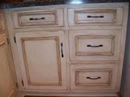White Kitchen Cabinets With Glaze Antique White Kitchen Cabinets With Chocolate Glaze Home Design