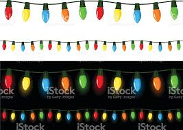 christmas lights clip art vector images u0026 illustrations istock