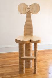 Wooden Chair Dolores By Nathalie Guez Wood Chair Artful Home
