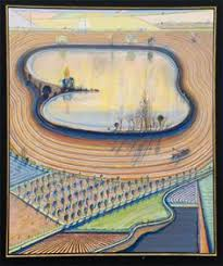 Wayne Thiebaud Landscapes by Wayne Thiebaud Delta Farms 96 Inspirations Idées