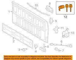 nissan murano fuse box toyota oem 2016 tacoma tail gate tailgate hatch lock cylinder